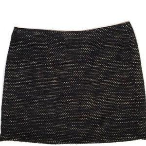 DKNYC black textured mini skirt, Size 18W